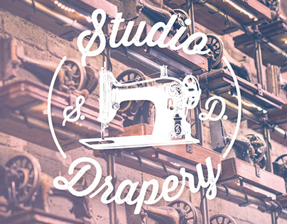 Logo Design - Studio Drapery