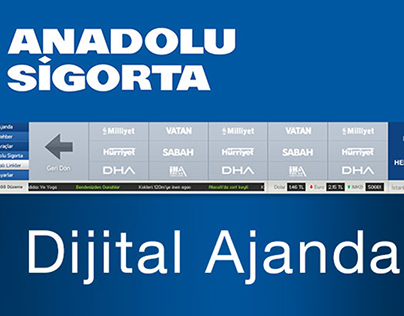 Anadolu Sigorta Ajanda