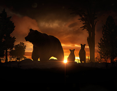 Animals of the Dawn