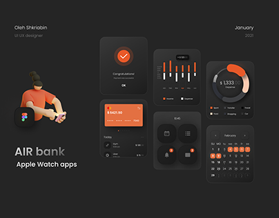 AIR bank for Apple Watch apps