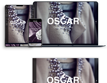 OSCAR - Dry Cleaning Studio Website