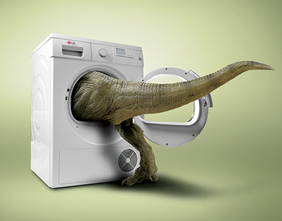 LG Big Washing Machine