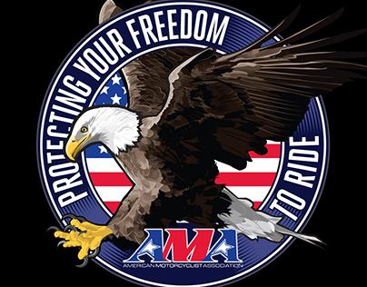 AMA Freedom Fighter Eagle illustration