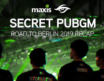 SECRET PUBGM - ROAD TO BERLIN 2019