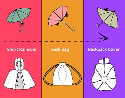 DIY - Umbrella Reuse