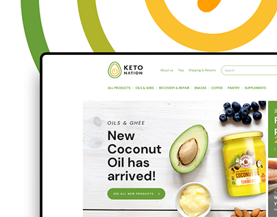 Keto Nation E-commerce