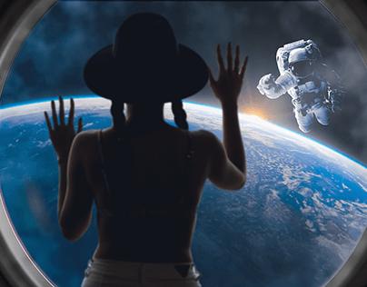 Ana in the sky
