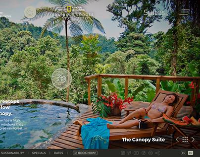 Pacuare Lodge Website
