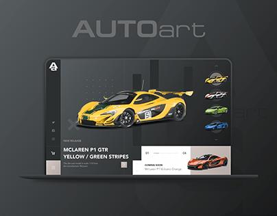 AUTOart – UX/UI Design & Interactive Prototyping