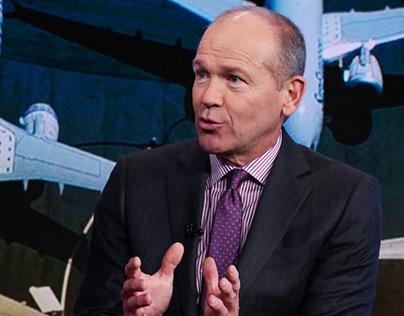 Boeing President and CEO Dave Calhoun