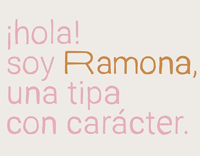 RAMONA - FREE DISPLAY FONT