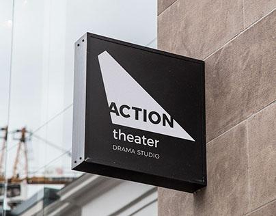 ACTION Theater branding