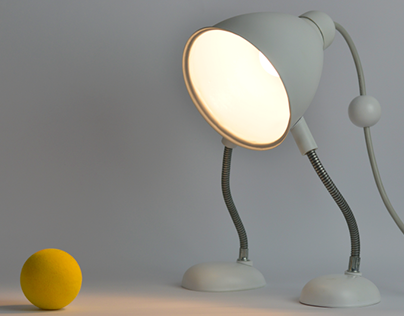 Lou, a friendly table lamp