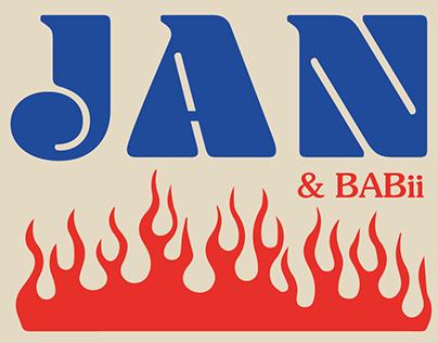 BAS JAN Poster
