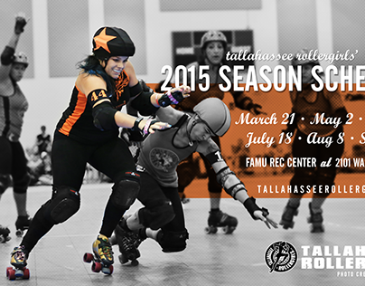 Tallahassee Rollergirls' 9th Season Poster Campaign