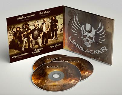 Direção de Arte - Rise (álbum da banda Unblacker)
