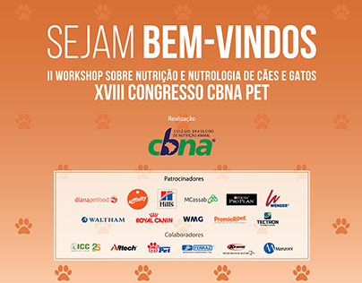 Criação de Conteúdo para Congresso CBNA Pet 2019