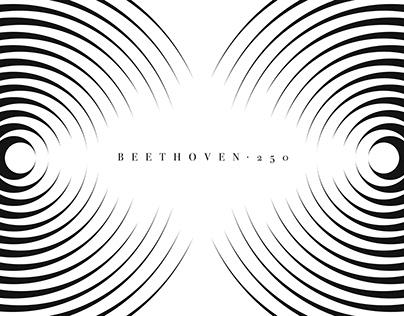 "Cartel ""Beethoven250"". Argentina, 2020"