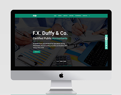 UI Project for Accounting and tax preparation & filing