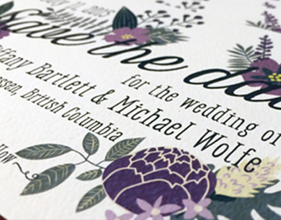 Tiffany & Michael - Wedding Invitations