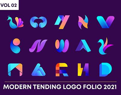 Modern Trending Logo Folio | V- 02 | Logo Collection