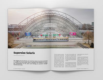 Customer Magazine for Solaris Bus & Coach S.A.