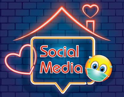 Covid 19 Social Media designs