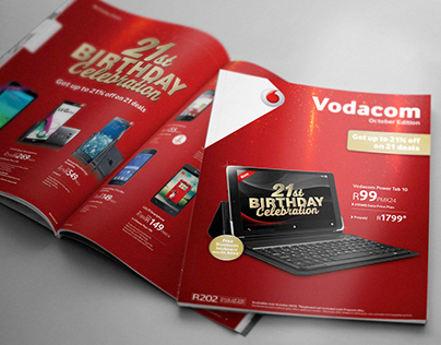 Vodacom 21st Birthday Celebration Retail Campaign