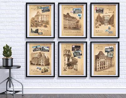 Romfilatelia vintage posters