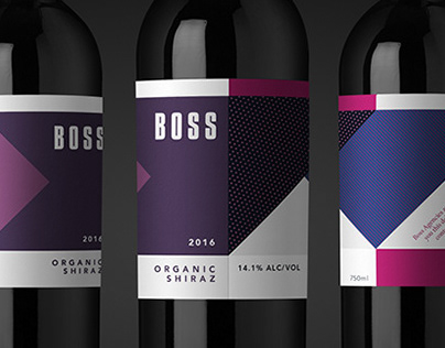 Boss Wine Labels