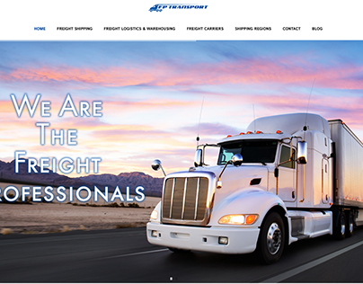 Freight Professionals Website Design