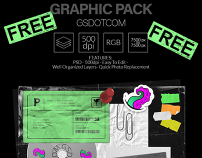 FREE PSD GRAPHIC PACK n2