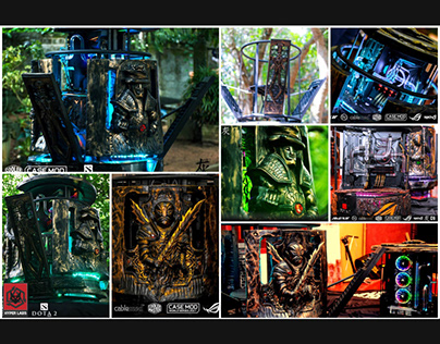 Build and Design Customize PC Casing by HyperLabs