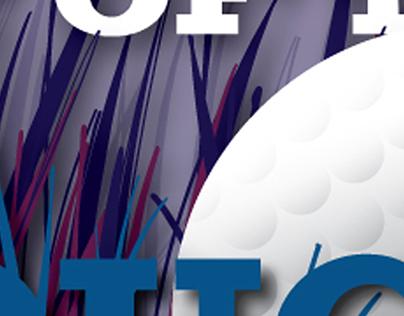 Golf brochure advertisement