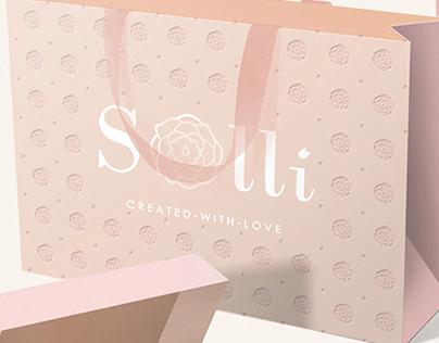 BRANDING, Brandbook, Print, Packaging | Solli Fashion