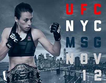 UFC 205 Wild Postings