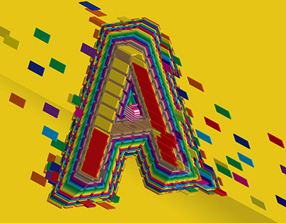 Flying Candy Alphabet