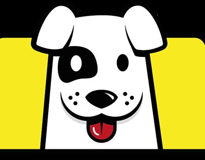 Identidad para Taxiguau. Taxistas dogfriendly.