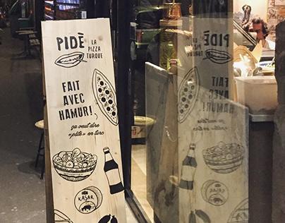 PIDÈ - LA PIZZA TURQUE