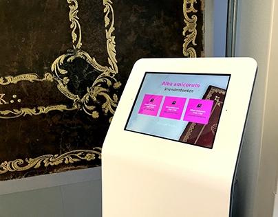 Apps voor expositie over papier