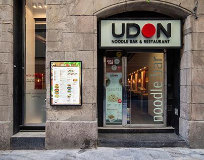 Cartas Restaurantes UDON
