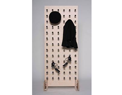 RÅR - A new interpretation of the coat rack