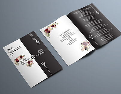 Williams Wedding Invitation & Program