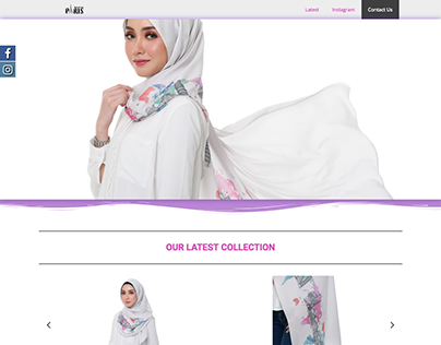 Shawls By Paris One Page Site