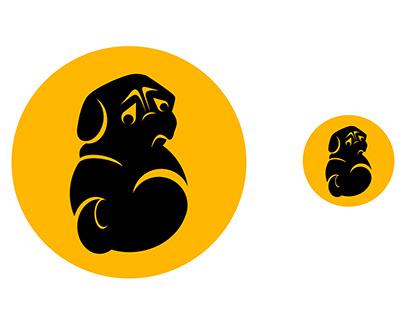 Animal Logo Design_ PUG