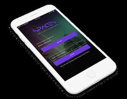 SPACES – App Design
