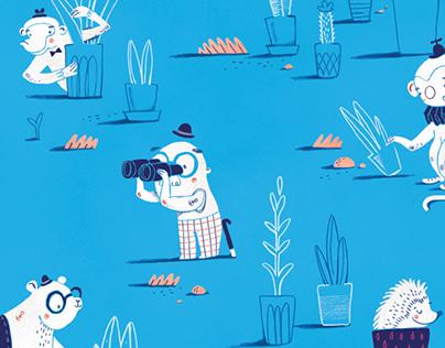 Children's Book - Het ABC van Gaston Durnez