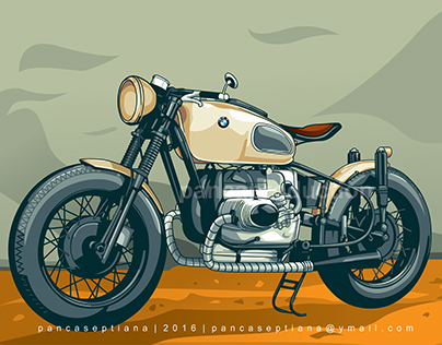 Motorcycle | Vector Art