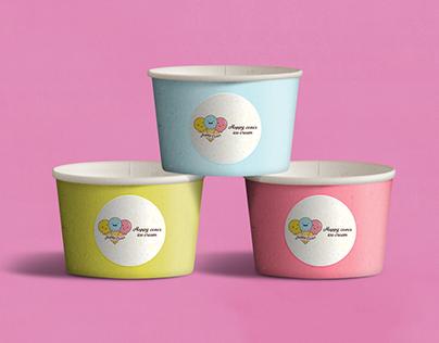 Happy cones Logo
