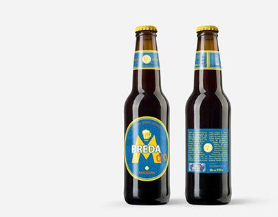Design proposal for the 0'0 Moritz beer